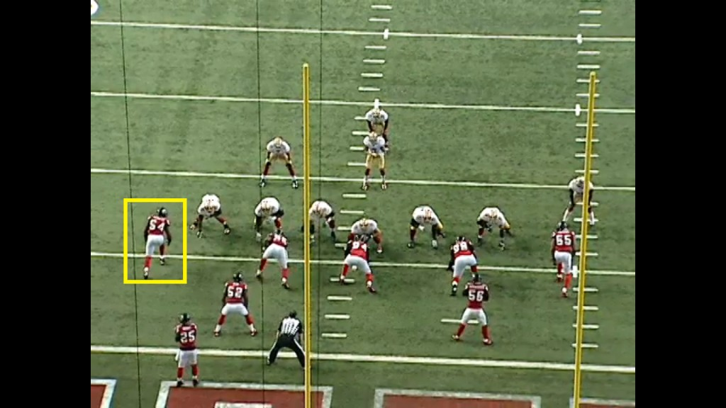 In the veer scheme, the option/dive key is the first man on or outside the offensive tackle